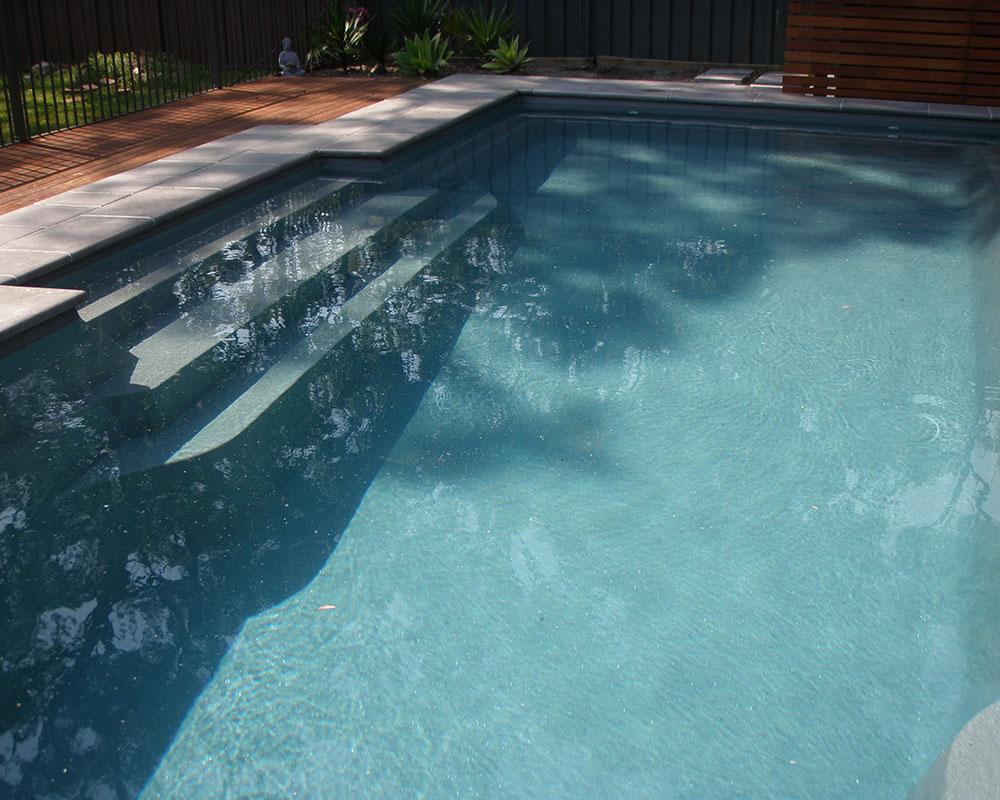 Fibreglass swimming pool construction port macquarie freeform style - Executive 9