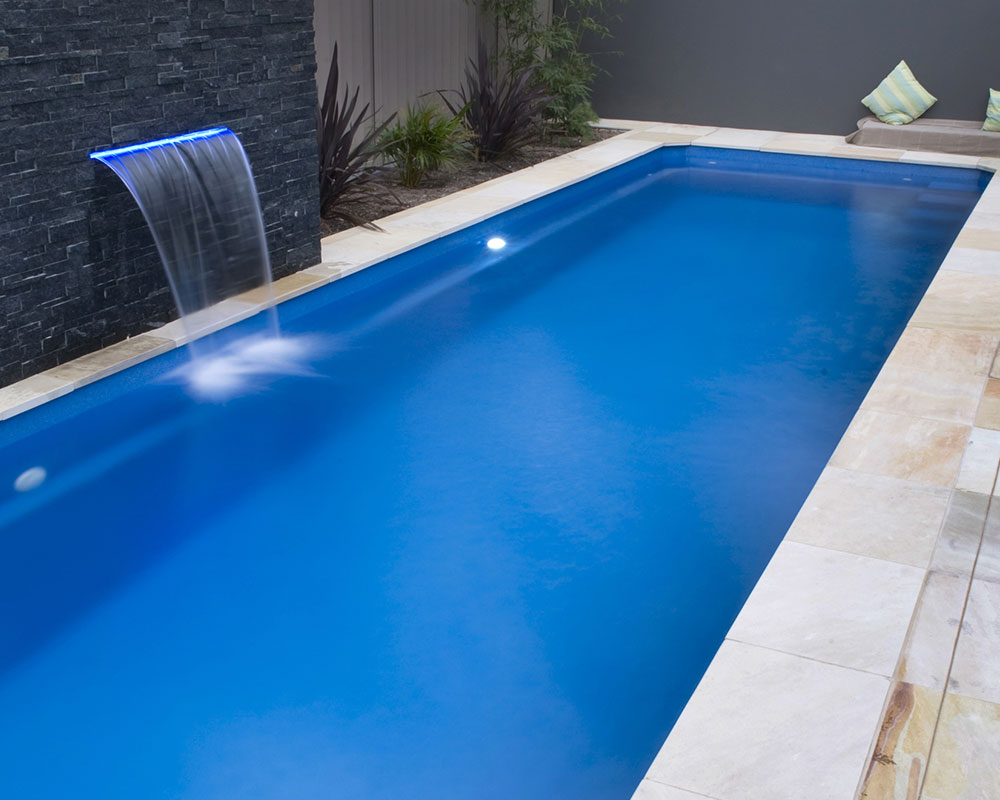 Fibreglass swimming pool construction port macquarie for Swimming lap pools